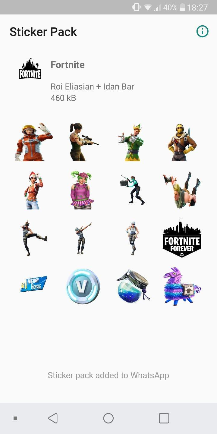 WAStickerApps - Fortnite Stickers for Android - APK Download