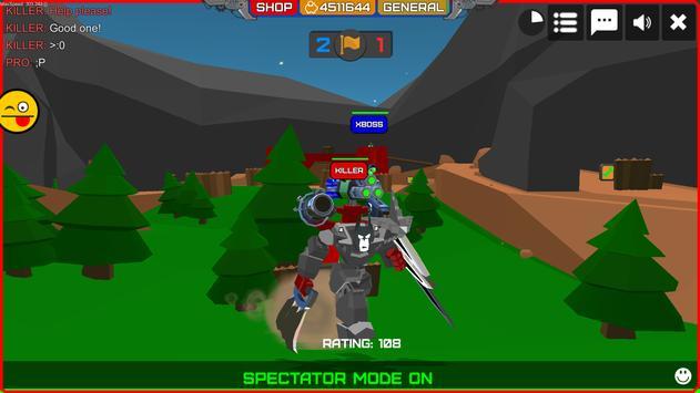 Armored Squad: Mechs vs Robots Online Action captura de pantalla 1