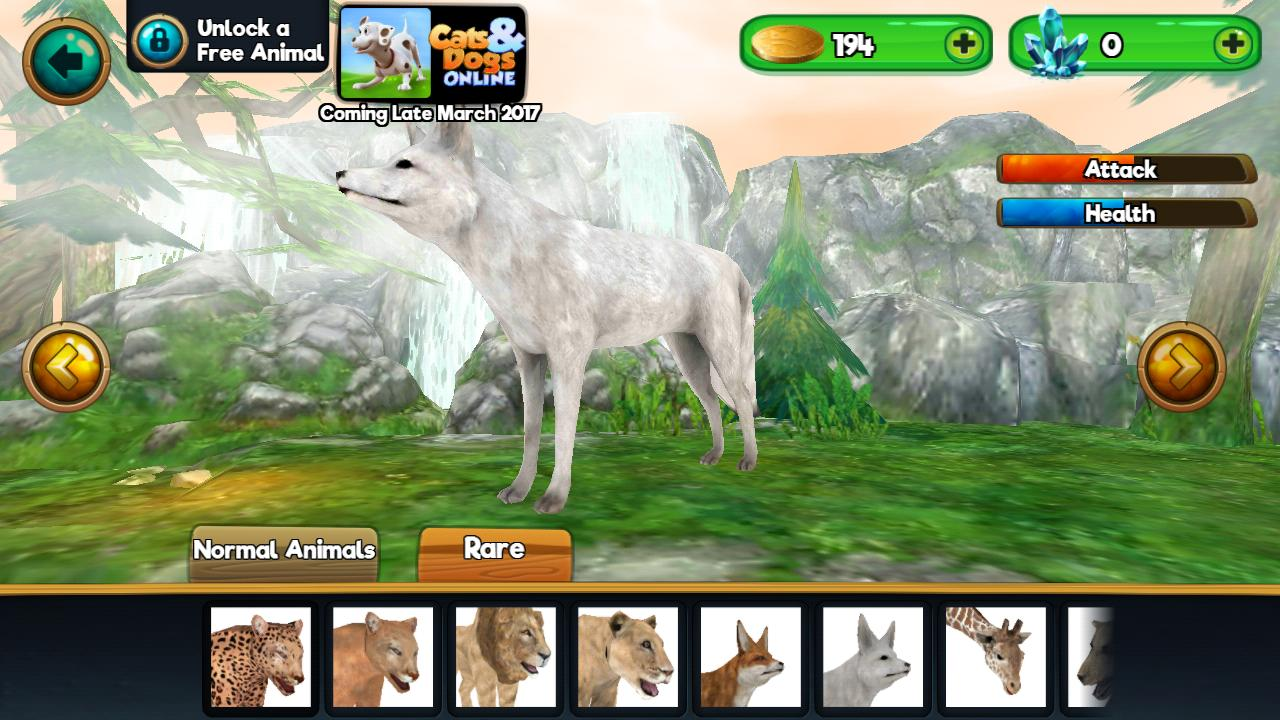 Animal Sim Online: Big Cats 3D for ...
