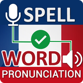 French Word Spellings & Pronunciation Checker icon