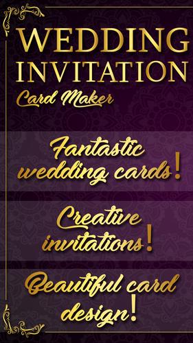Free Wedding Invitation Card Maker Apk 1 7 Download For