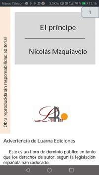 El Príncipe De Nicoláas Maquiaveilo screenshot 4