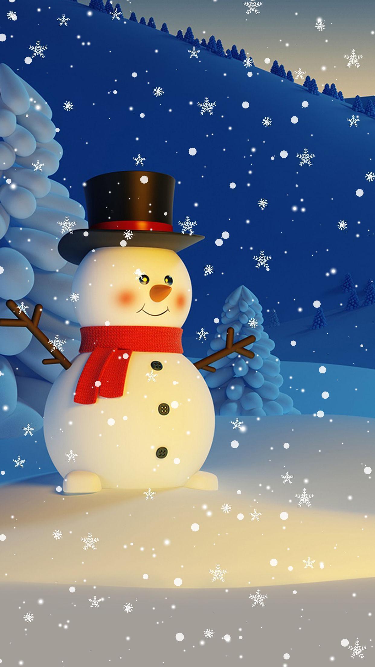 Android 用の 雪だるま ライブ壁紙 クリスマス 背景 Apk をダウンロード