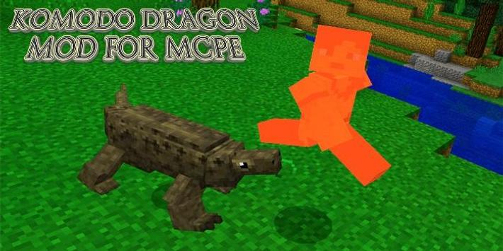 New Komodo Dragon MOD For MCPE for Android - APK Download
