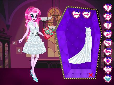 Monster Pony Bride : Dress Up Game screenshot 1