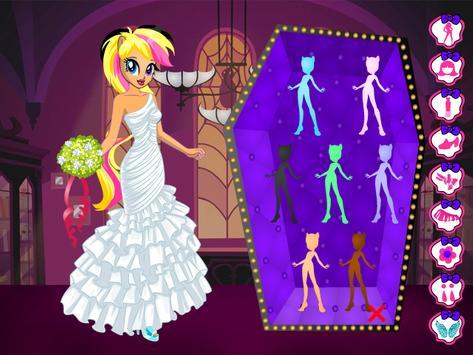 Monster Pony Bride : Dress Up Game screenshot 8