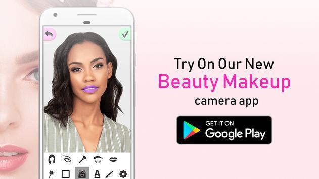 Beauty Makeup Camera App poster