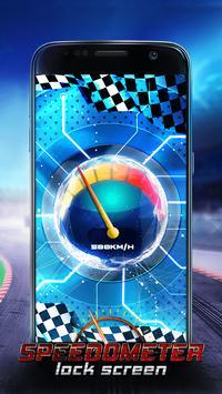Speedometer Lock Screen screenshot 3