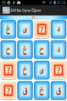 Elif Ba Oynayarak Öğren Sesli screenshot 3
