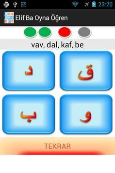 Elif Ba Oynayarak Öğren Sesli screenshot 4