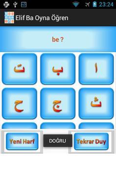 Elif Ba Oynayarak Öğren Sesli screenshot 5