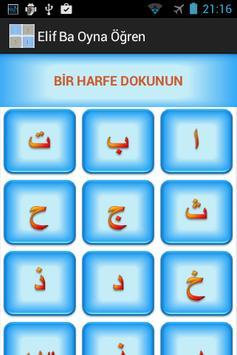 Elif Ba Oynayarak Öğren Sesli screenshot 8