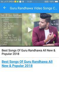 Guru Randhawa Video Songs Collection screenshot 3