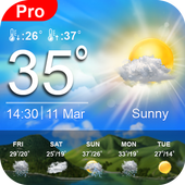 Daily Weather Forecast App Weather Channel icon