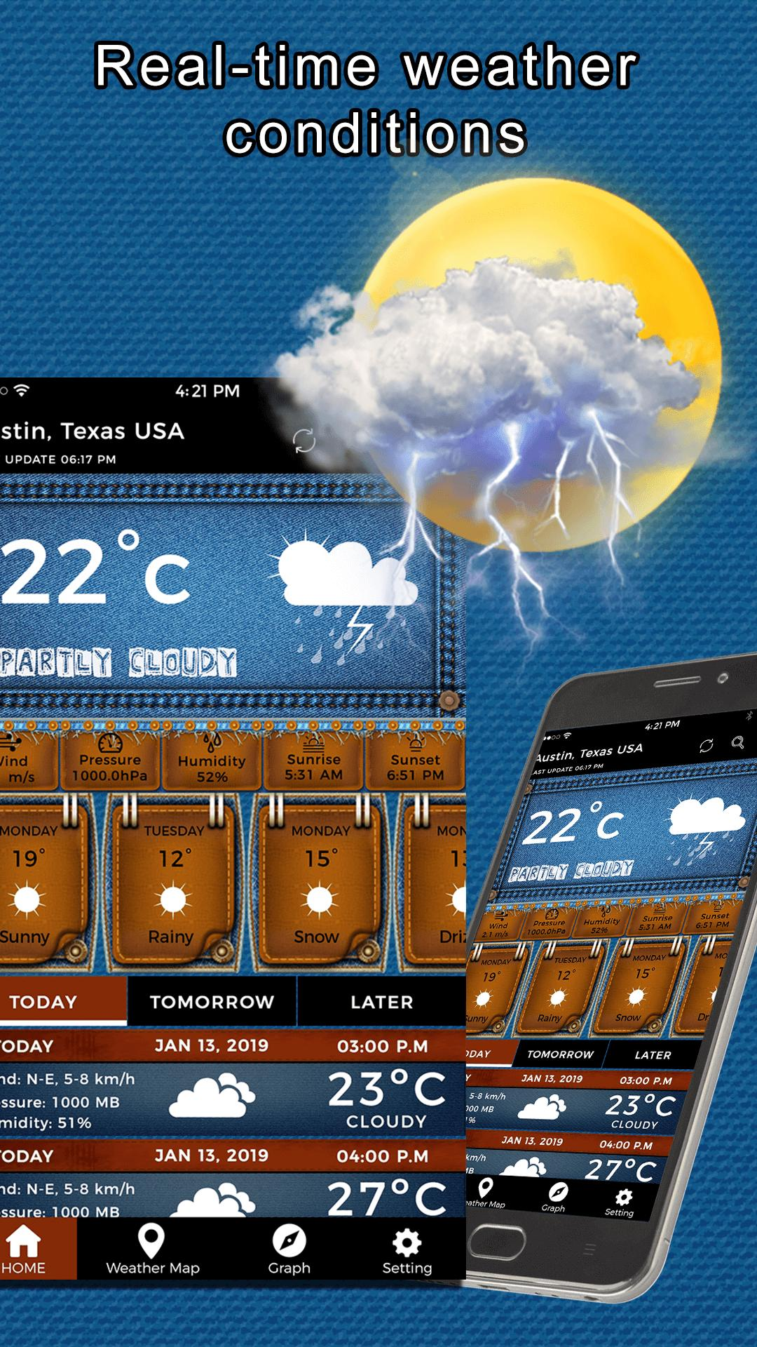 Weather App Weather Channel Live Weather Forecast for