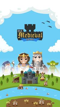🏰 Idle Medieval Tycoon - Idle Clicker Tycoon Game poster