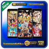 New Wallpapers Apps for Goku DBS icon