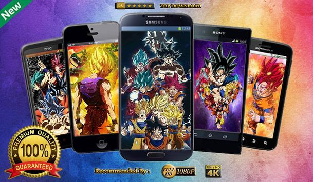 New Wallpapers Apps for Goku DBS screenshot 1