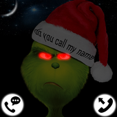 Grinch Stole Fake Call (Live.Chat.Sms) - Prank icon