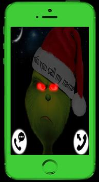 Grinch Stole Fake Call (Live.Chat.Sms) - Prank screenshot 1