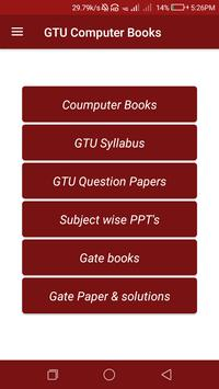 GTU Computer Books,papers, Syllabus,Gate Books screenshot 1