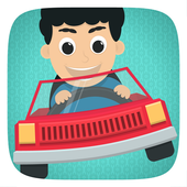 Kids Toy Car Driving Game Free icon