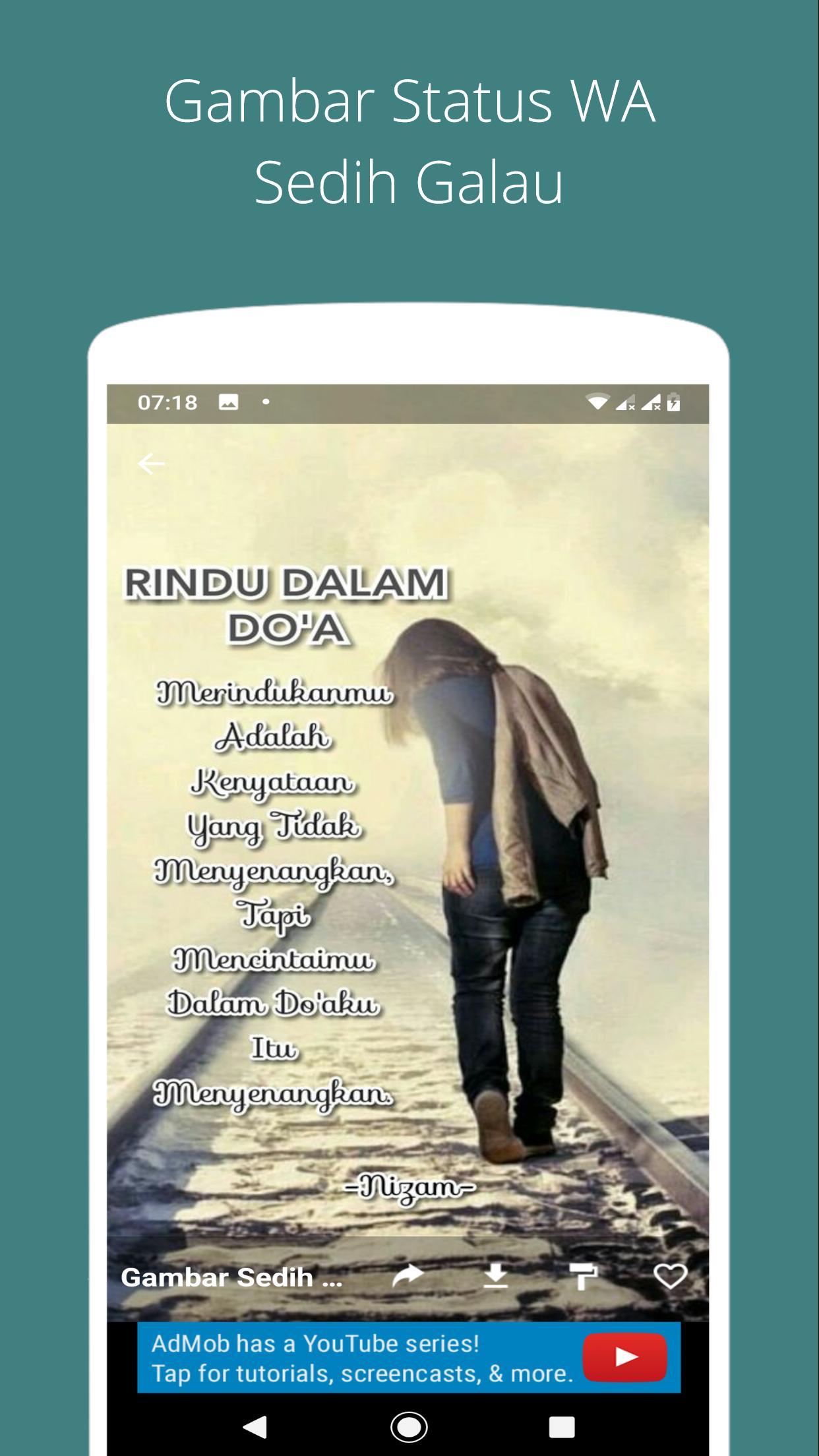 Gambar Status Wa Sedih Galau For Android Apk Download