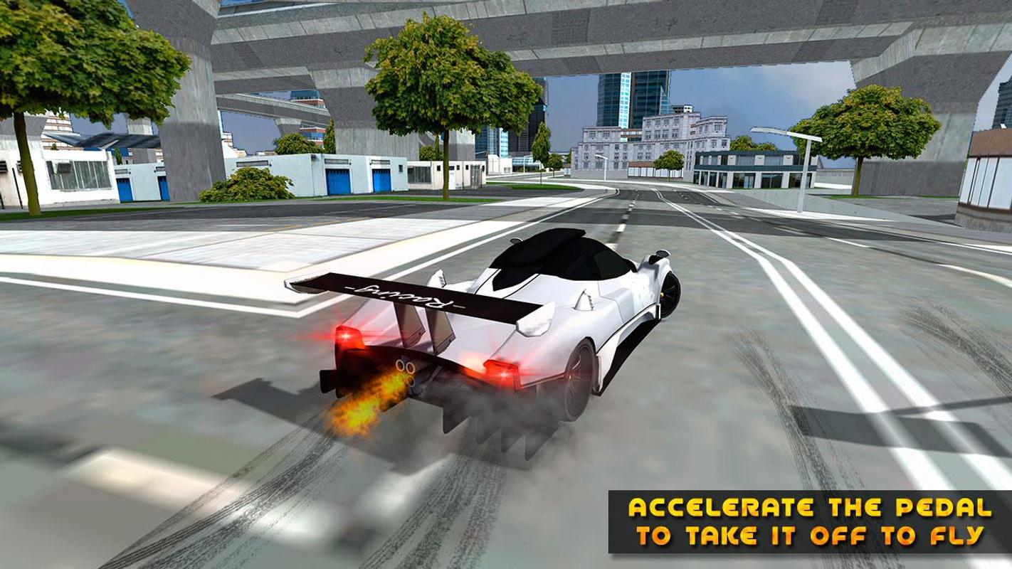 Real Driving Games >> Flying Car Real Driving For Android Apk Download