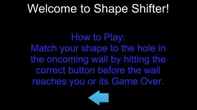 Shape Shifter screenshot 1