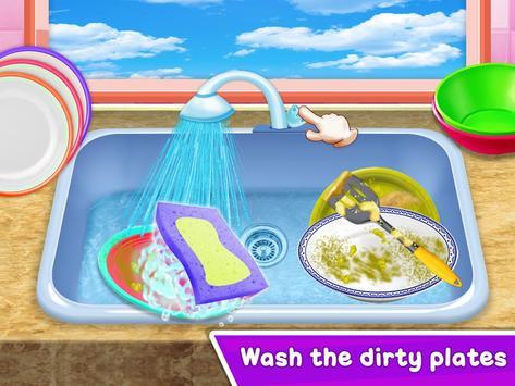 Baby Girl Cleaning Home screenshot 14