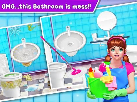 Baby Girl Cleaning Home screenshot 15