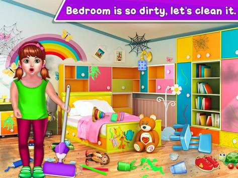 Baby Girl Cleaning Home screenshot 17