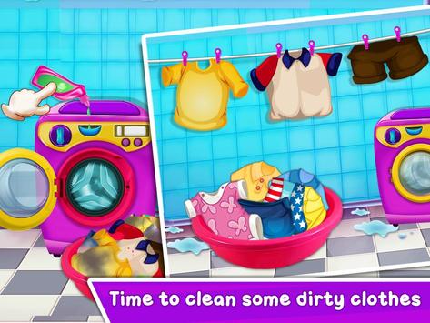 Baby Girl Cleaning Home screenshot 10