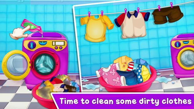 Baby Girl Cleaning Home screenshot 4
