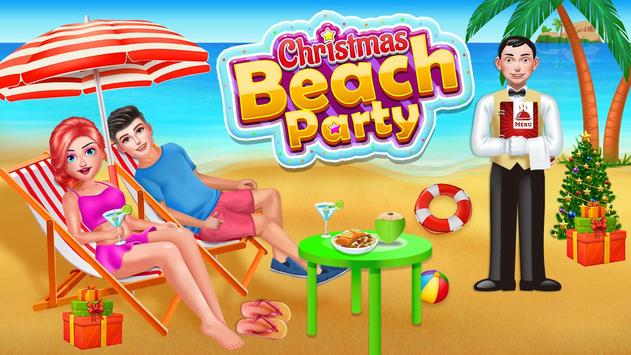 Beach Sea Food Party poster