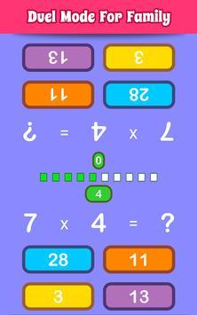 數學遊戲 截圖 4