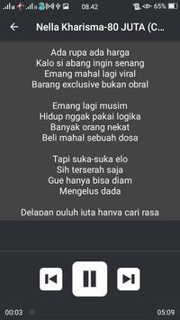 Nella Kharisma-80 Juta 5mnt Feat Via Vallen+lirik screenshot 4