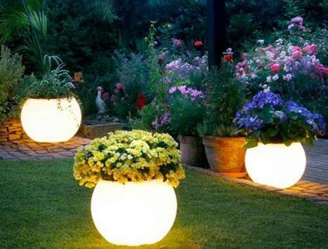 Garden Lights Design poster