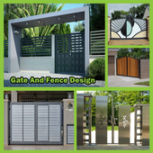 Gate and Fence Design House Ideas icon