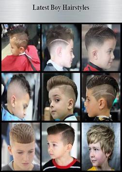 Latest Boy Hairstyles screenshot 7