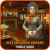 Virtual good granny happy family simulator icon