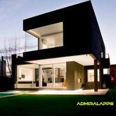 geometric house design icon