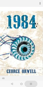 1984 George Orwell poster