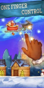 Flying Santa : Christmas Gift Delivery Run screenshot 1