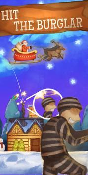 Flying Santa : Christmas Gift Delivery Run screenshot 2