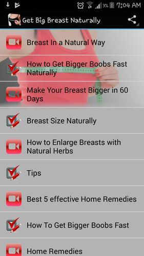 Breast Enlargement Naturally For Android Apk Download