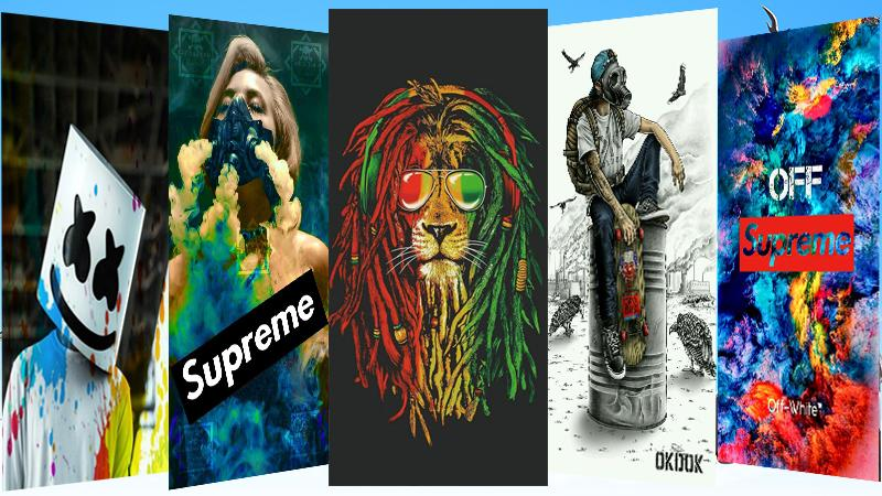 Ghetto Wallpaper Loockscreen Trill Dope Supreme For Android
