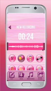 Girly Voice Changer – Boy To Girl Voice Recorder screenshot 1