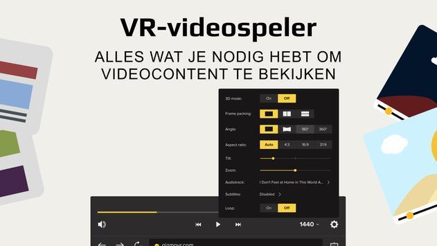Gizmo VR Video Player: 360 Virtual Reality Videos screenshot 1