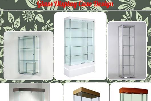 Glass Display Case Design poster